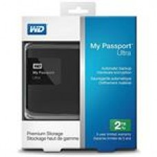 WD My Passport Ultra 2 TB Portable External Hard Drive USB 3.0